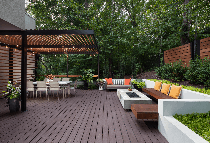 Custom Outdoor Patio Design