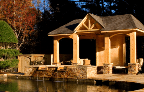 Custom Pool & Pavilion
