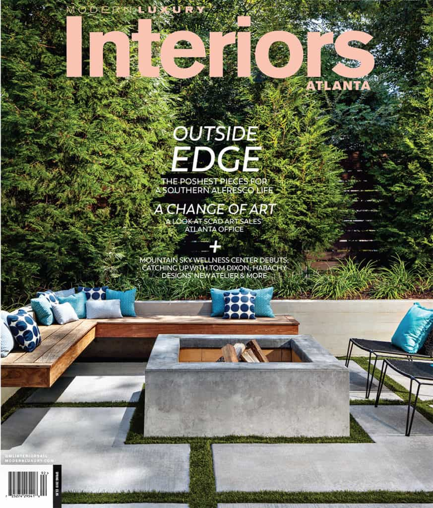 Modern Luxury Interiors Atlanta Cover
