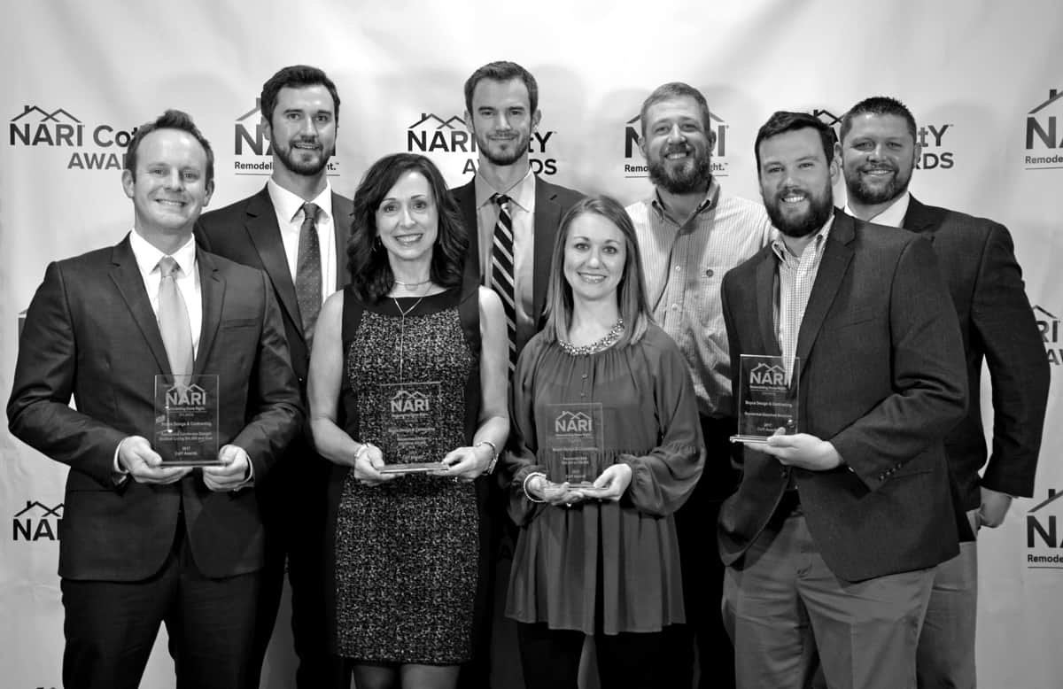 Boyce Team Photo At NARI Awards