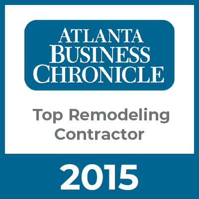 Atlanta Business Chronicle Top Remodeling Contractor 2015