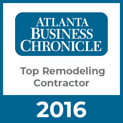 Atlanta Business Chronicle Top Remodeling Contractor 2016