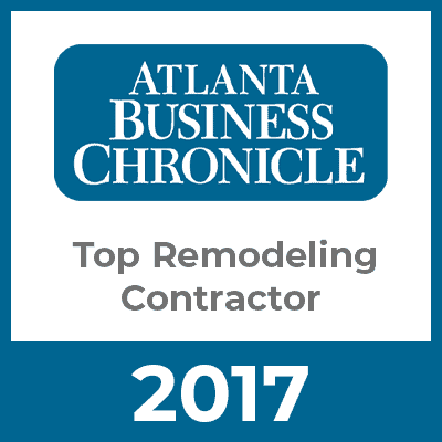 Atlanta Business Chronicle Top Remodeling Contractor 2017