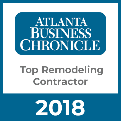 Atlanta Business Chronicle Top Remodeling Contractor 2018