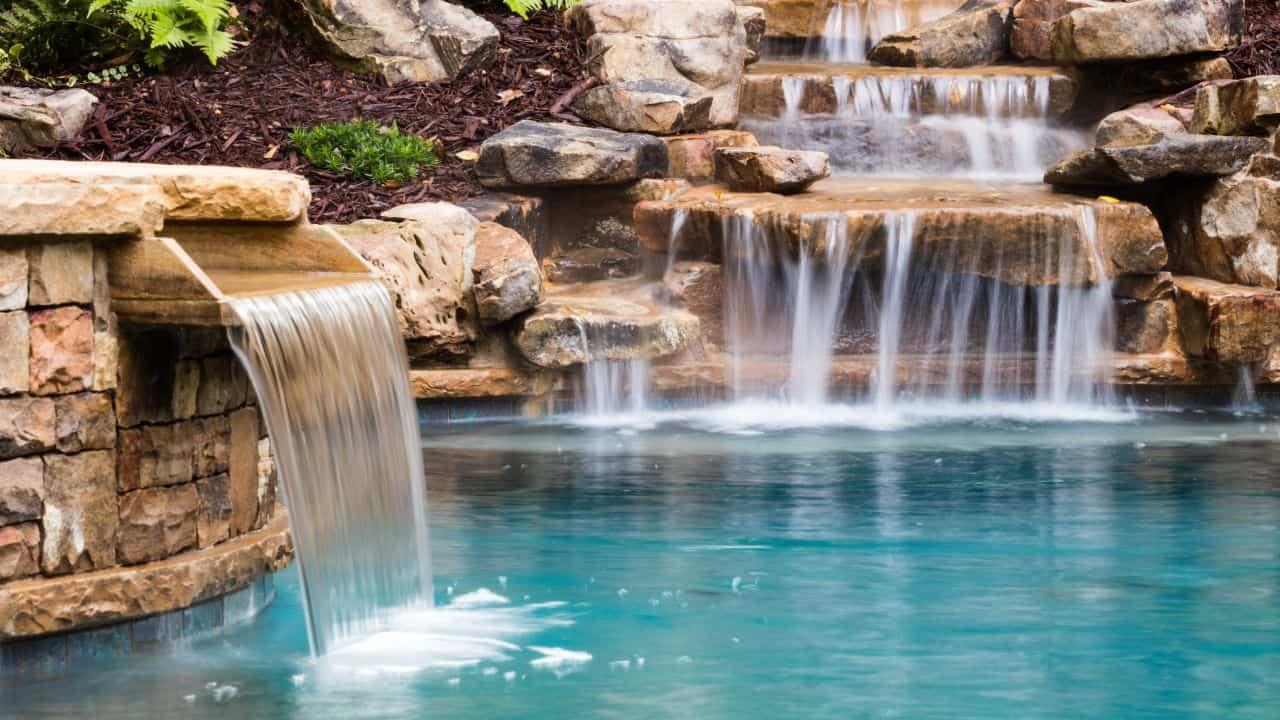 Custom Outdoor Water Feature