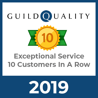 Guild Quality Exceptional Service 2019