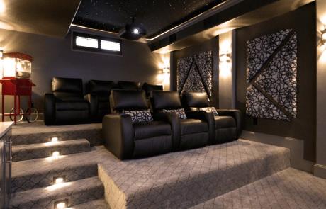 Custom Basement Theater