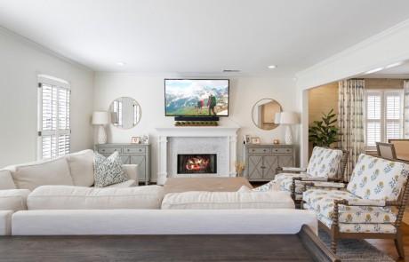 Custom Design Living Room Remodel