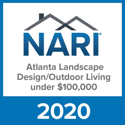 2020 NARI Atlanta Landscape Design/Outdoor Living Award