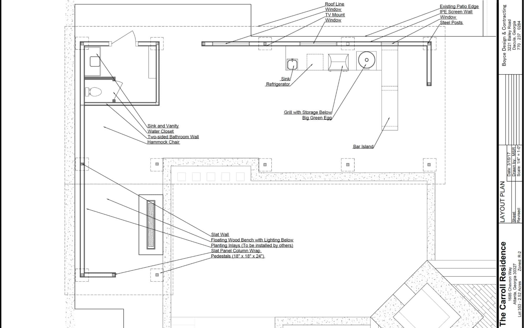 Outdoor Living Project Plans