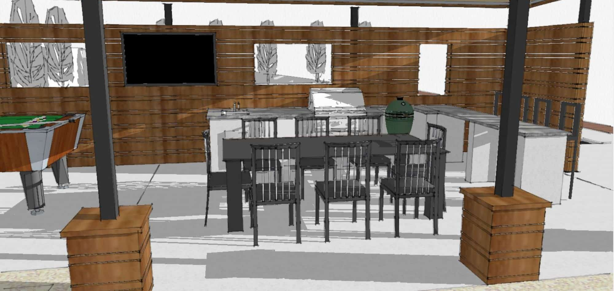 Outdoor Living Project Design