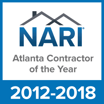NARI Atlanta Contractor Of The Year 2012-2018
