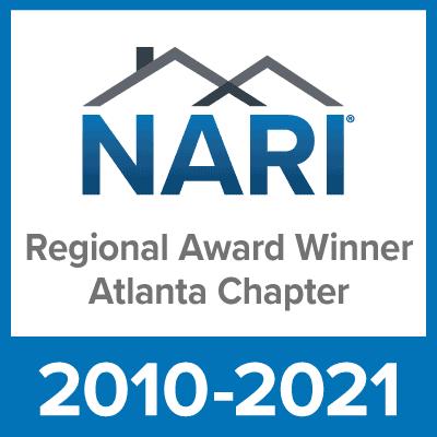 NARI Regional Award Winner Atlanta Chapter 2010-2021